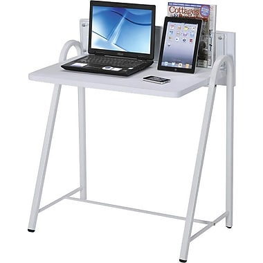 RTA Products Techni Mobili Student Computer Desk, White
