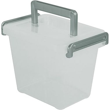 Iris 2.28 Quart Deep Modular Latch Box with Handle