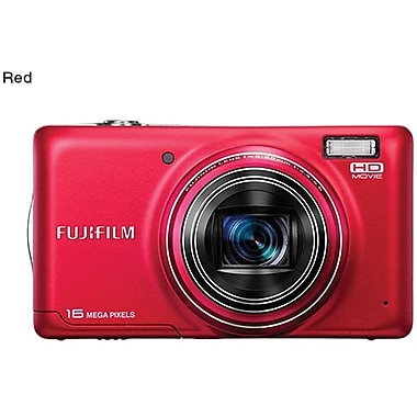 Fuji FinePix T400 Digital Camera, Red