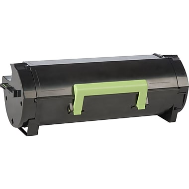 Lexmark Black Toner Cartridge (50F1H00), High Yield, Return Program
