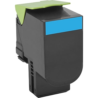 Lexmark Cyan Toner Cartridge (80C10C0), Low Yield, Return Program