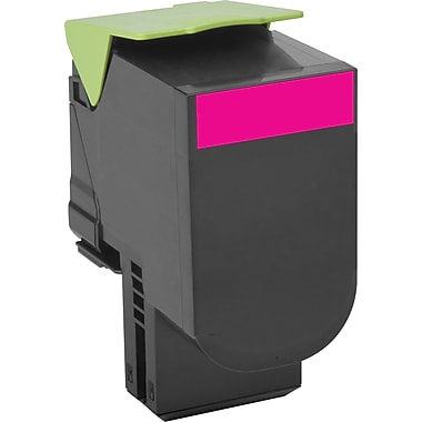 Lexmark 80C1HM0 Magenta Return Program Toner Cartridge, High Yield