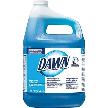 Dawn® Dishwashing Liquid, 1 Gallon Bottle, 4/Case