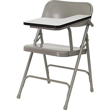 Flash Furniture Premium Steel Student Chair, Left Handed Arm
