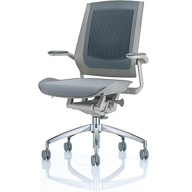 Raynor Bodyflex Fabric Manager's Chair, Black