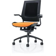 Raynor Bodyflex Fabric Manager's Chair, Orange