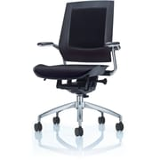 Raynor Eurotech Office Chair with Chrome Frame, Black