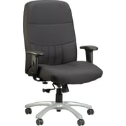 Raynor Eurotech Excelsior Fabric Big and Tall Manger's Chair, Black