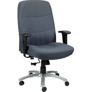 Raynor Eurotech Excelsior Fabric Big and Tall Manger's Chair, Charcoal
