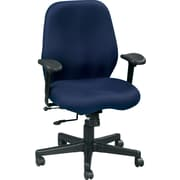 Raynor Eurotech Fabric Aviator Task Chair, Black