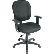 Raynor Eurotech Fabric Racer ST Task Chair, Black