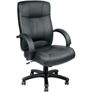 Raynor Eurotech Odyssey Leather Executive Chair, Black