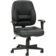Raynor Eurotech Leather Tuscany Chair, Black