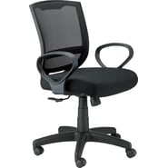 Raynor Eurotech Fabric/Mesh Maze Task Chair, Black