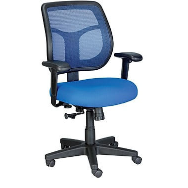 Raynor Eurotech Apollo Mesh Back Task Chair, Blue