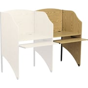 Flash Furniture Add-On Study Carrels