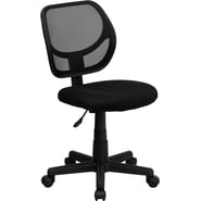 Flash Furniture Mid-Back Curved Mesh Task Chair, Black