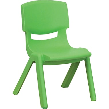Flash Furniture Plastic Stackable School Chairs with 10 1/2in. Seat Height