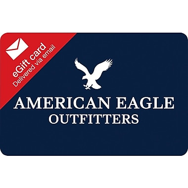 American Eagle Gift Card, $50 (Email Delivery)