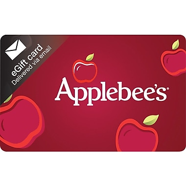 Applebees Gift Cards, $50 (Email Delivery)