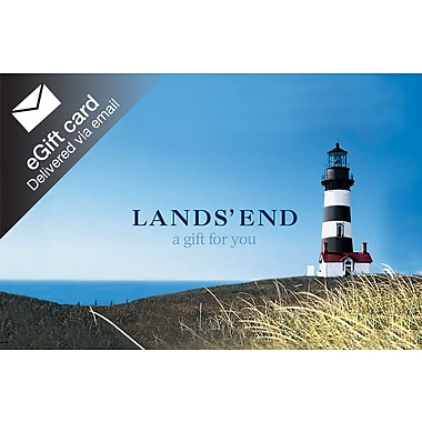 Lands End Gift Card, $100 (Email Delivery)