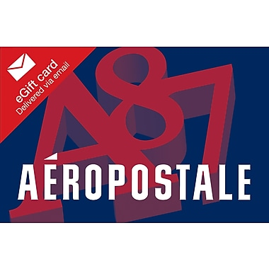 Aeropostale Gift Card, $50 (Email Delivery)