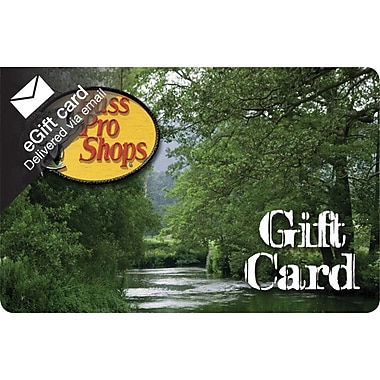 Bass Pro Shops Gift Card, $25 (Email Delivery)
