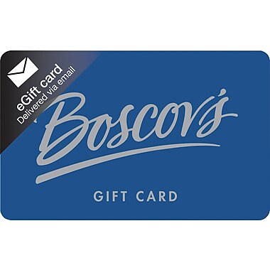 Boscov's Gift Card, $50 (Email Delivery)