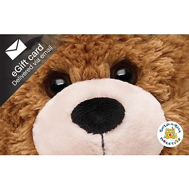 Build a Bear Gift Card, $50 (Email Delivery)