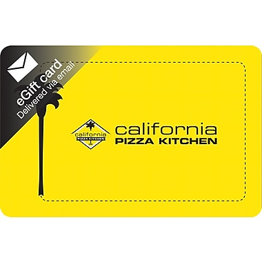 California Pizza Kitchen Gift Card, $25 (Email Delivery)