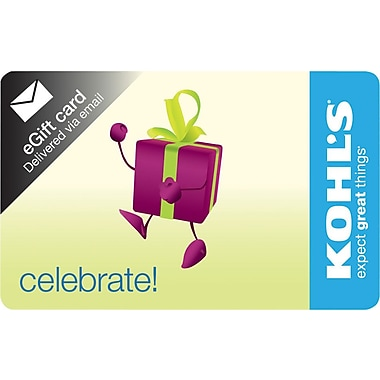 Kohl's Gift Cards (Email Delivery)