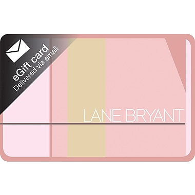 Lane Bryant Gift Card, $25 (Email Delivery)