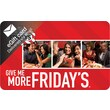 TGI Friday's Gift Card, $25 (Email Delivery)