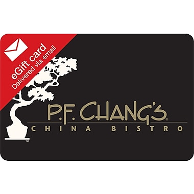 PF Changs Gift Card, $25 (Email Delivery)