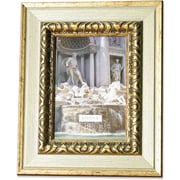 Carved Antique Silver And Gold 5x7 Picture Frame