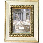 Carved Antique Silver And Gold 8x10 Picture Frame