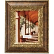 Carved Antique Bronze 4x6 Picture Frame Ornate Design