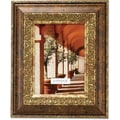 Carved Antique Bronze 8x10 Picture Frame Ornate Design