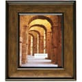 5x7 Wide Bronze Dome Picture Frame