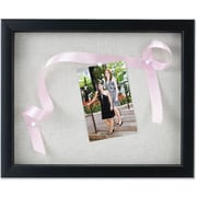 Lawrence Frames Black Shadow Box Frame - Linen Inner Display Board