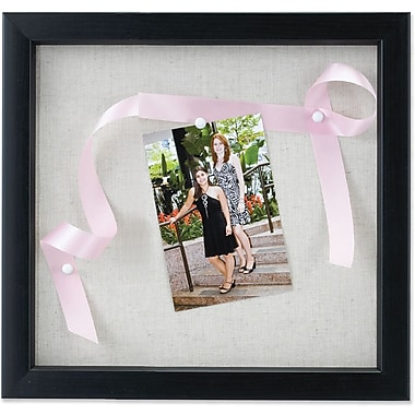 Lawrence Frames 8in. x 8in. Wooden Black Shadow Box Frame (168088)