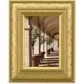 Lawrence Frames Ornate Domed Gilded Gold