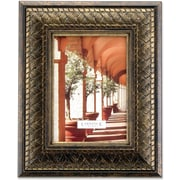 183380 Bronze Basket Weave 8x10 Picture Frame