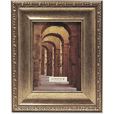 Lawrence Frames Architecture and Artisan Collection 5in. x 7in. Composite Wood Classic Champagne Picture Frame (184057)