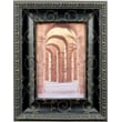 184157 Black with Bronze Etching 5x7 Picture Frame