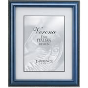 "Lawrence Frames Verona Collection 5"" x 7"" Wooden Blue Picture Frame with Bead (199057)"