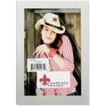 Brushed Silver 4x6 Metal Picture Frame