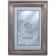 310146 Brushed Pewter Metal Classic Rope 4x Picture Frame
