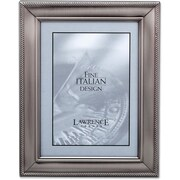 310180 Brushed Pewter Metal Classic Rope 8x Picture Frame