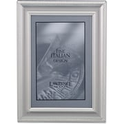 310246 Satin Silver Metal Classic Rope 4x6 Picture Frame